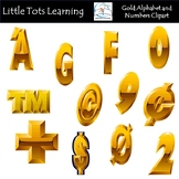 Wood Alphabet and Numbers Clipart | Alphabet and Numbers C