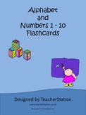 Alphabet and Numbers Flashcards