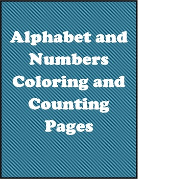 Alphabet and Numbers Packet