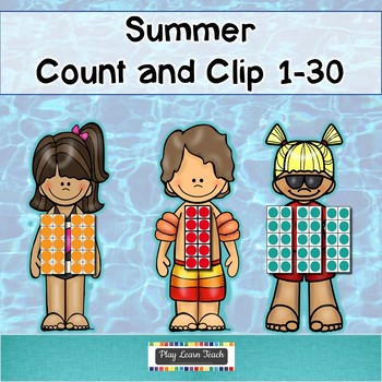 Alphabet and Numbers Summer Bundle