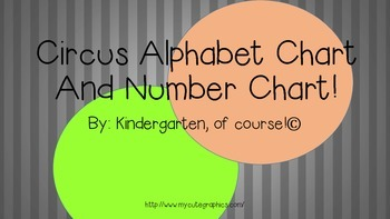 Alphabet and Numbers at the Circus!