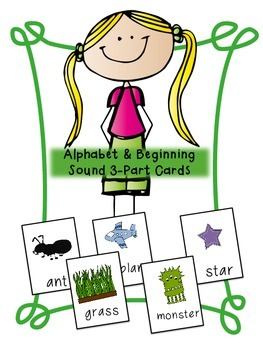 Alphabet and Phonemic Awareness 3-part Cards
