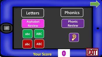 Alphabet and Phonic Power Point Games and Activities