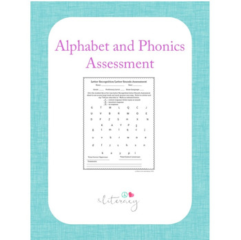 Alphabet and Phonics Assessment - Quick and easy!