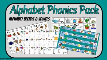Alphabet and Phonics Cards