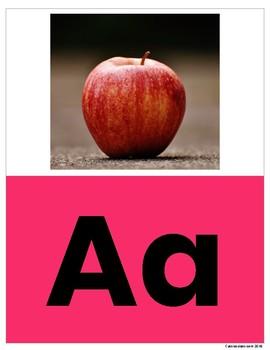 Alphabet and Phonics Display Cards