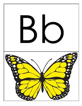 Alphabet and Phonics Flashcards - A to Z - letter size