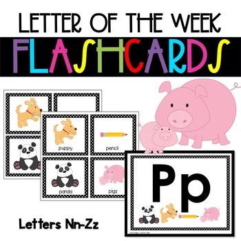 Alphabet and Phonics Flashcards  ❤️ Nn-Zz