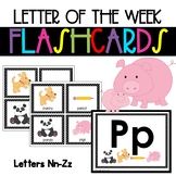 Alphabet and Phonics Flashcards  ❤️ Nn-Zz