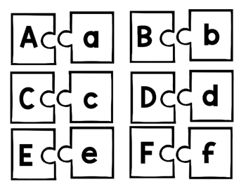 Alphabet and Phonics Puzzles
