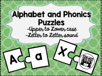 Alphabet and Phonics Puzzles