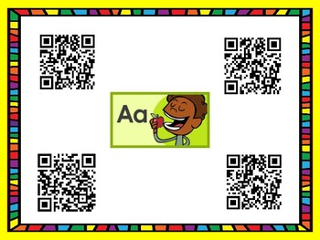 Alphabet and Phonics QR Code Reasearch and Practice
