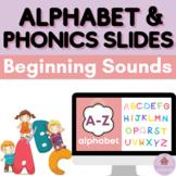 Alphabet and Phonics Slides - Alphabet Powerpoints - Alpha