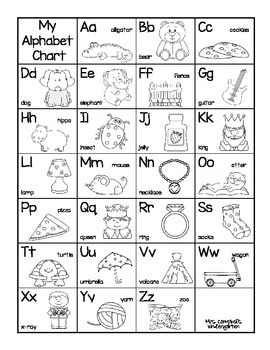 Alphabet and Sight Word Charts