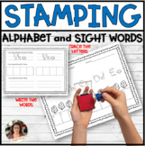 Alphabet and Sight Word Stamping Center Activities
