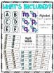 Alphabet and Sight Word Writing - Salt and Sand Tray Cards (Dental Health)