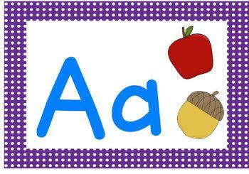 Alphabet and Sounds Play Dough Mats