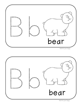 Alphabet and Word Pokey Pins