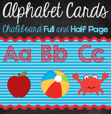Alphabet and Word Wall Cards {Chalkboard}
