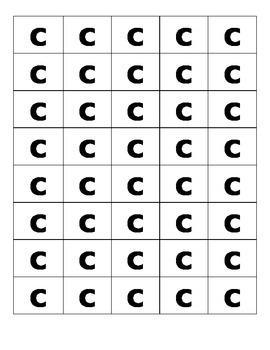 Alphabet  and consonant blend tiles