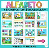Spanish Alphabet Activities for Google Classroom™ Centros de lectura y escritura