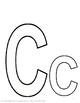 Alphabet Specialty: Letter C Alpha Pack  (16 pages) Kindergarten/pre-k
