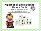 Alphabet beginning sound picture cards