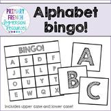 Alphabet bingo!
