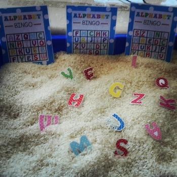 Alphabet bingo - Reading centres