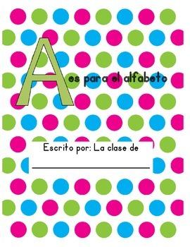 Alphabet book Spanish