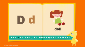 Alphabet book and activity sheets - Learn ABC with animal friends