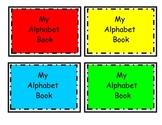 Alphabet books and flash cards