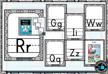 Alphabet cards- Classroom Decor