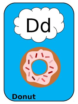 Alphabet cards (letter posters)