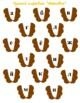 Alphabet carrot russian
