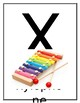Alphabet classroom Display/Flash Cards Editable