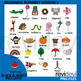 Alphabet clip art - Beginning alphabet version 2 clipart