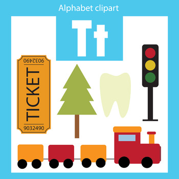 alphabet clip art letter t beginning sounds by thinkingcaterpillars rh teacherspayteachers com letter t clipart images small letter t clipart