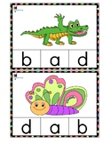 Alphabet clip cards (Lower case)