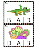 Alphabet clip cards (Upper Case)