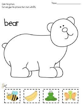 Alphabet (color, trace, write & identify)
