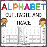 Alphabet Worksheets A-Z Kindergarten (Cut and Paste)