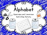 Alphabet cut and paste activity