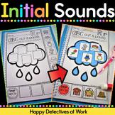 Alphabet cut and paste, letter sounds