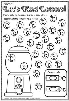 Alphabet dab(FREEBIE)