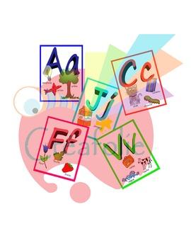 Alphabet en français