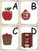 Alphabet et pommes (alphabet cards activities)
