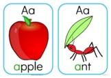 Alphabet flashcards - Medium
