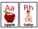 Alphabet flashcards to Barbara Milne song (Do you know these Letter Sounds?)