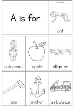 Alphabet - beginning sound - flip books